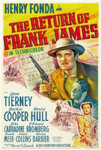 The Return of Frank James (1940) Poster