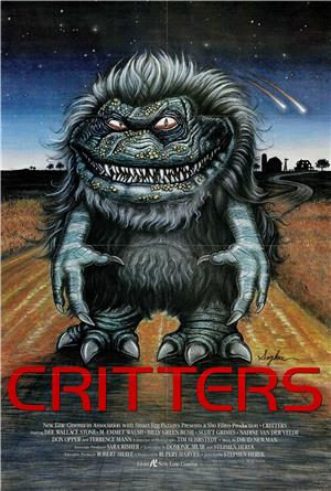 Critters (1986) 1080p Poster