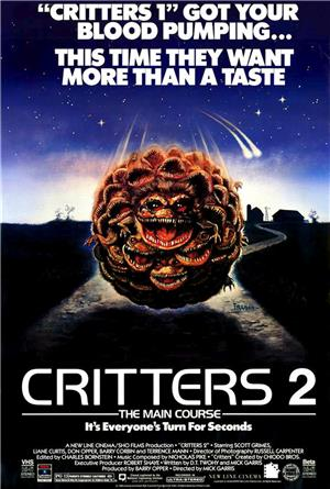 Critters 2 (1988) 1080p Poster