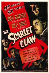 The Scarlet Claw (1944) 1080p Poster