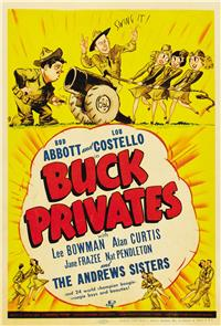 Buck Privates (1941) 1080p Poster