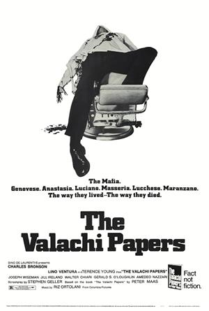 The Valachi Papers (1972) Poster