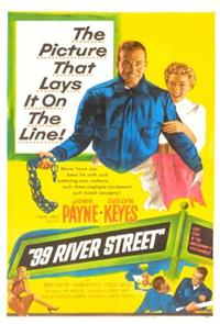 99 River Street (1953) Poster