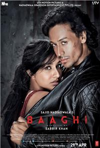 Baaghi (2016) Poster