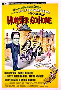 Munster, Go Home! (1966) 1080p poster