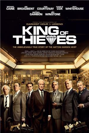 King of Thieves (2018) Poster