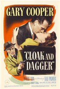 Cloak and Dagger (1946) poster