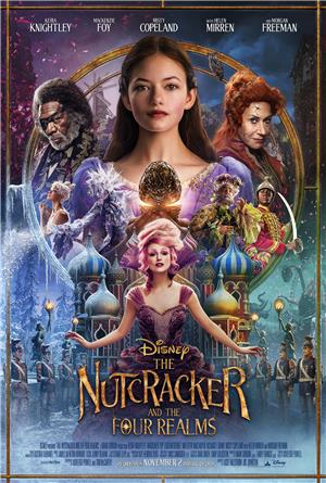 The Nutcracker and the Four Realms (2018) 1080p Poster