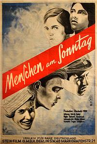 People on Sunday (1930) Poster