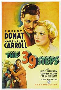 The 39 Steps (1935) 1080p Poster
