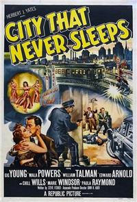 City That Never Sleeps (1953) 1080p Poster