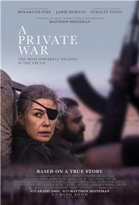 A Private War (2018) 1080p Poster