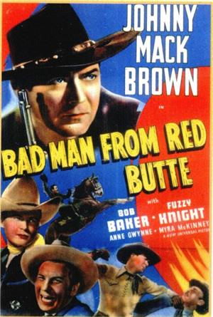 Bad Man from Red Butte (1940) Poster