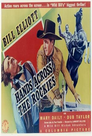 Hands Across the Rockies (1941) Poster
