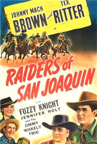 Raiders of San Joaquin (1943) Poster