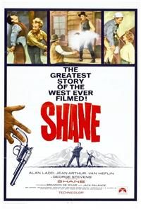 Shane (1953) 1080p Poster