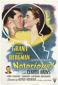 Notorious (1946) 1080p Poster