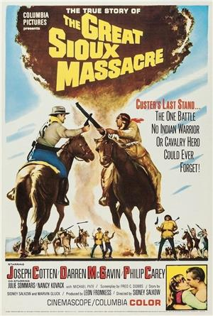 The Great Sioux Massacre (1965) Poster