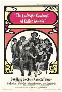 The Cockeyed Cowboys of Calico County (1970) 1080p Poster