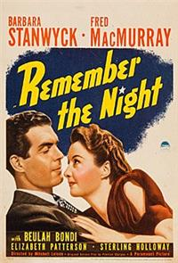 Remember the Night (1940) Poster