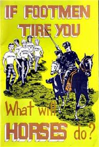 If Footmen Tire You, What Will Horses Do? (1971) Poster