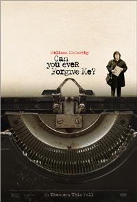 Can You Ever Forgive Me? (2018) 1080p Poster