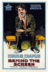Behind the Screen (1916) Poster