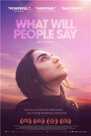 What Will People Say (2017) Poster