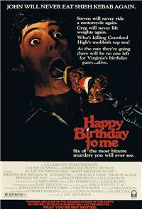 Happy Birthday to Me (1981) Poster
