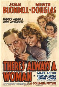 There's Always A Woman (1938) Poster
