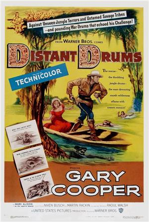 Distant Drums (1951) Poster