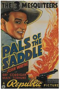 Pals of the Saddle (1938) Poster