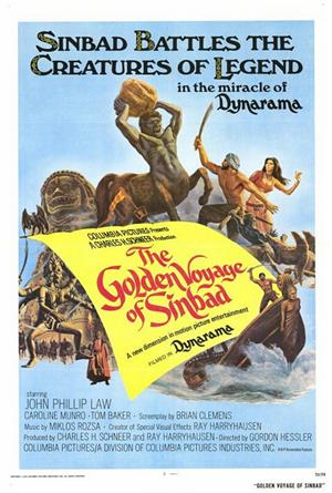 The Golden Voyage of Sinbad (1973) 1080p Poster