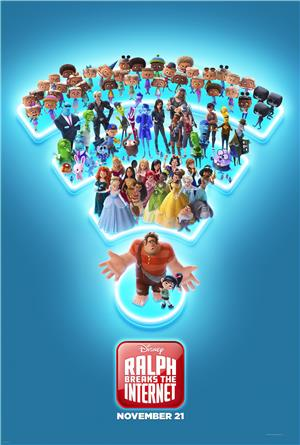 Ralph Breaks the Internet (2018) 1080p Poster