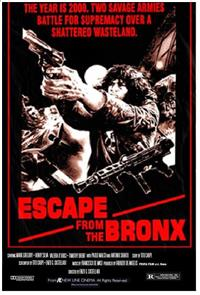 Escape from the Bronx (1983) 1080p poster