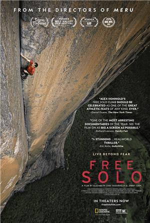 Free Solo (2018) 1080p Poster