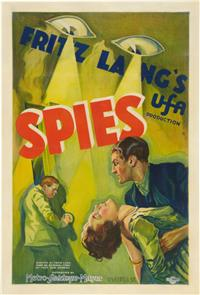 Spies (1928) 1080p Poster