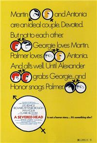 A Severed Head (1970) Poster