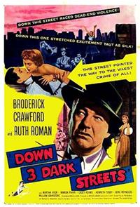 Down Three Dark Streets (1954) 1080p Poster