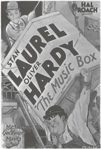 The Music Box (1932) Poster