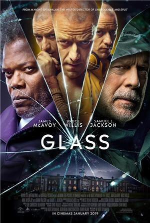 Glass (2019) 1080p Poster