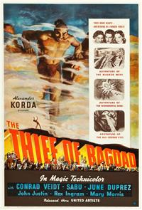 The Thief of Bagdad (1940) 1080p Poster