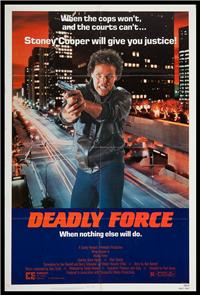 Deadly Force (1983) Poster