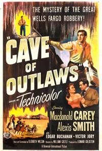 Cave of Outlaws (1951) 1080p Poster