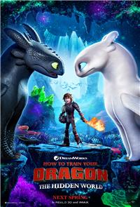 How to Train Your Dragon: The Hidden World (2019) 1080p Poster
