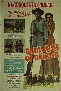 Badlands Of Dakota (1941) 1080p Poster