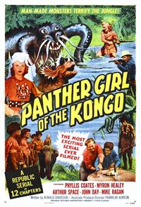 Panther Girl of the Kongo (1955) 1080p Poster