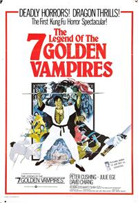 The Legend of the 7 Golden Vampires (1974) 1080p Poster