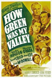 How Green Was My Valley (1941) 1080p Poster