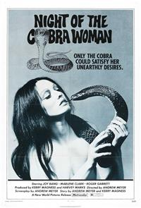 Night of the Cobra Woman (1972) Poster
